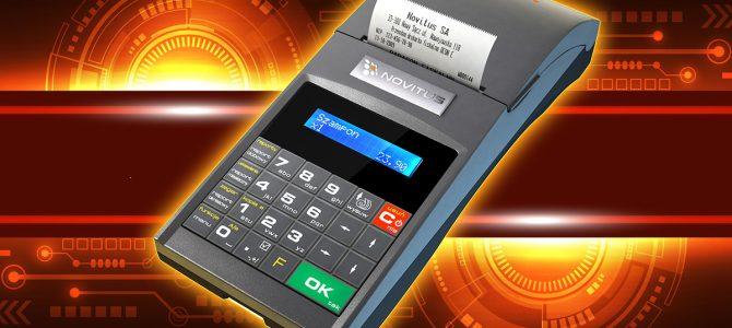 Novitus Deon E… bo drukarki fiskalne też mogą być mobilne!