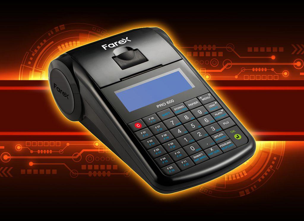 Farex Pro 600 - kasa rejestrująca online